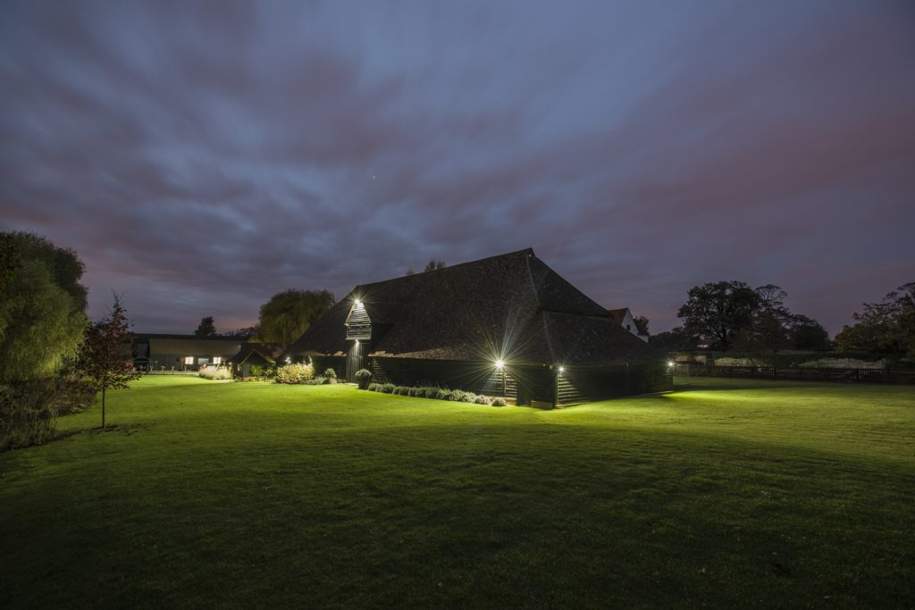 The Priory at Night