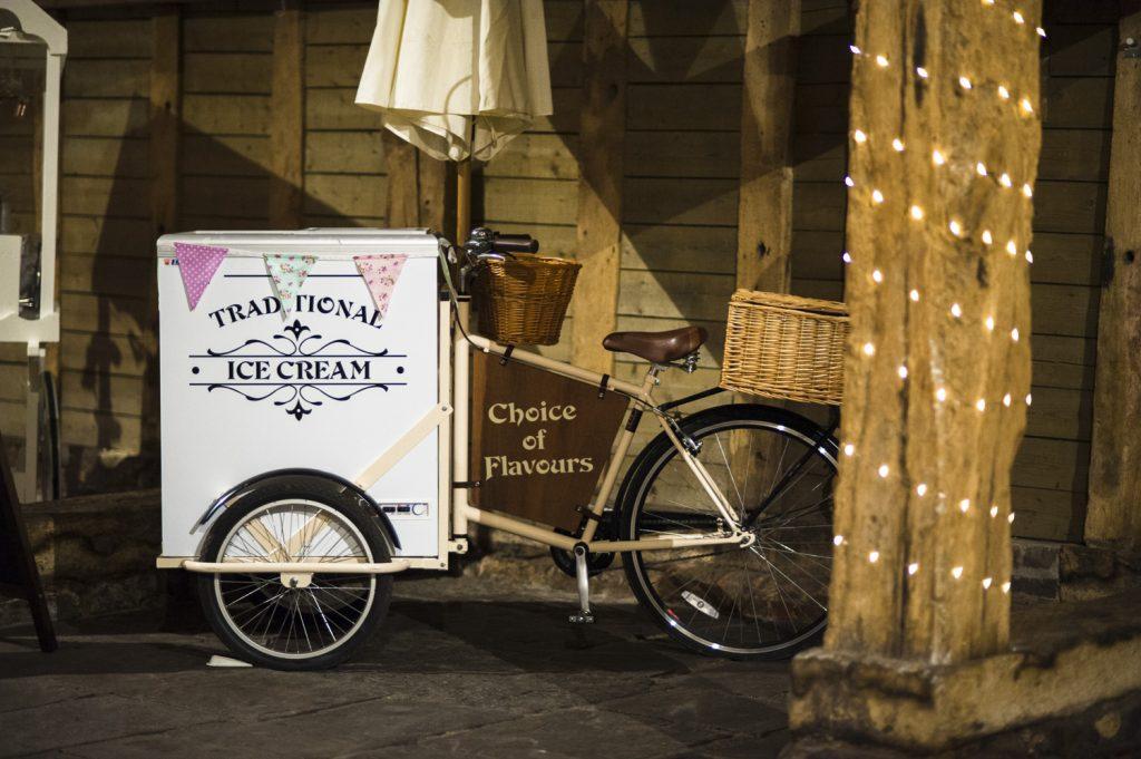 Vintage Ice Cream Tricycle