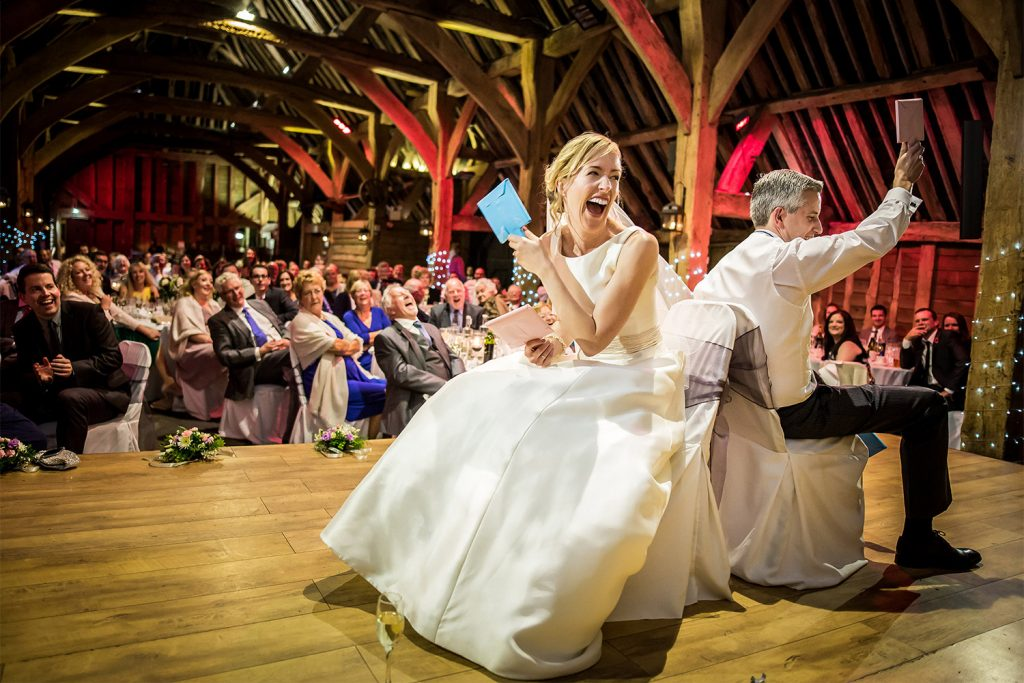 The Priory Wedding Reception
