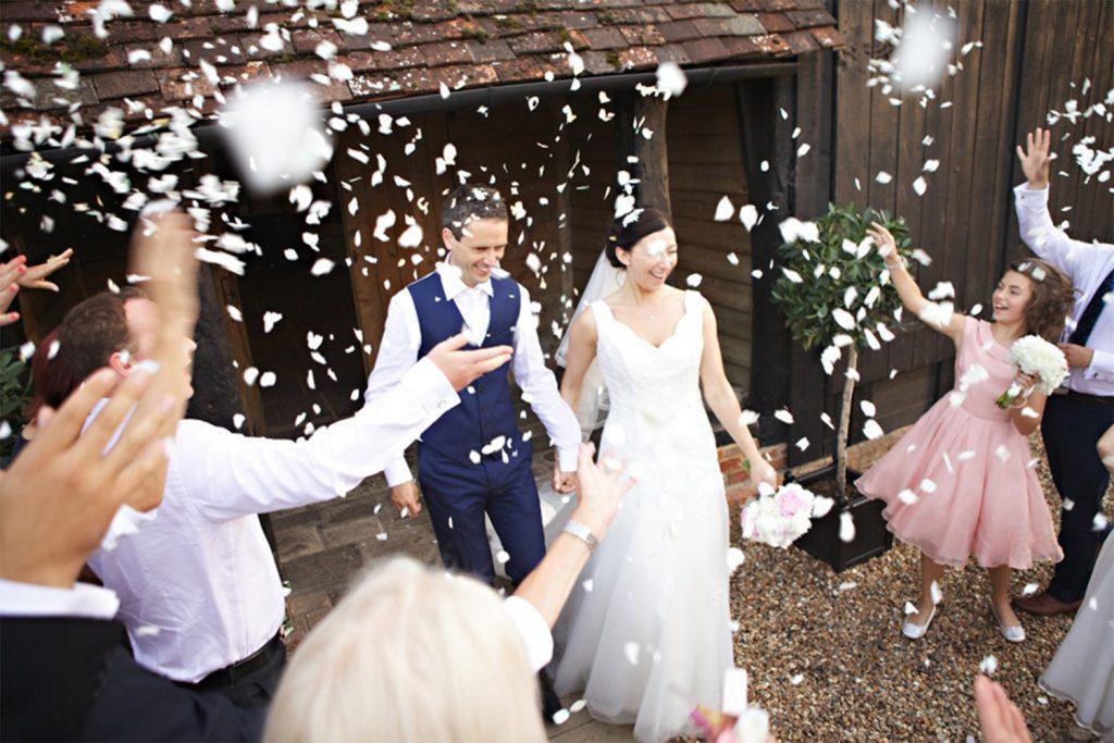 The Priory Wedding Ceremony