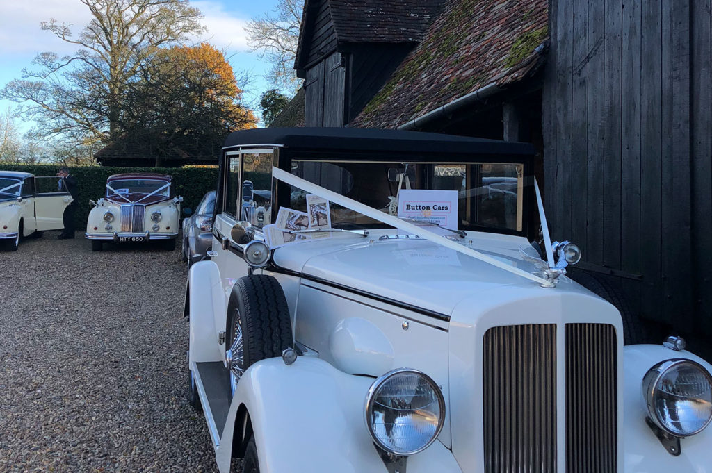 Vintage Car Hire at The Priory